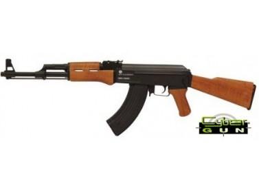 AK 47 KALASHNIKOV ELECTRIQUE CYBERGUN METAL ET BOIS 1.2 JOULE